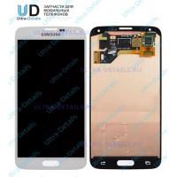 Дисплей Samsung G900F (S5) TFT в сборе с тачскрином (белый)