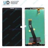 Дисплей Lenovo K910 в сборе с тачскрином (черный)