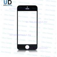 Стекло Apple iPhone 5/5C/5S/SE (черный)