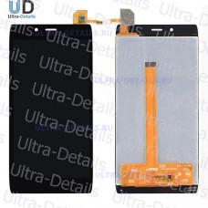 Дисплей Alcatel OT-6032X (Idol Alfa) в сборе с тачскрином (черный)