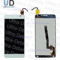 Дисплей Alcatel OT-6043D (Idol X+) в сборе с тачскрином (белый)