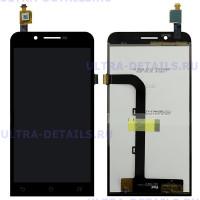 Дисплей Asus ZenFone Go (ZC500TG) в сборе с тачскрином (черный)