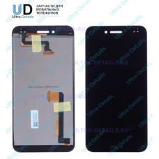 Дисплей Asus PadFone S (PF500KL) (5.0 дюйма) в сборе с тачскрином с рамкой (черный)
