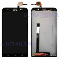 Дисплей Asus ZenFone 2 (ZE550ML) в сборе с тачскрином (черный)