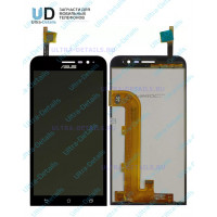 Дисплей Asus ZB500KG (ZenFone Go) в сборе с тачскрином (черный)