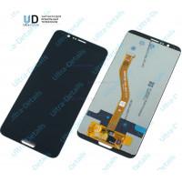 Дисплей Huawei Honor View 10 в сборе с тачскрином (черный)