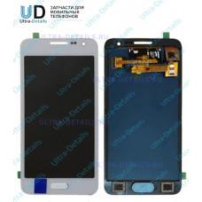 Дисплей Samsung A300F (A3) в сборе с тачскрином (белый) переклееный оригинал