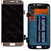 Дисплей Samsung G935F (S7 Edge) в сборе с тачскрином (золотой)