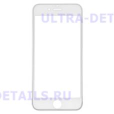 3D стекло для iPhone 6 (белый)