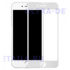 3D стекло для iPhone 6 plus (белый)