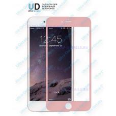 3D стекло для iPhone 6 plus/6S plus (розовый)