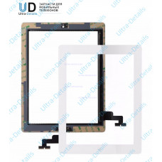 Тачскрин iPad 2 (белый) с кнопкой Home