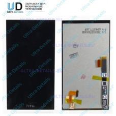 Дисплей HTC One Mini в сборе с тачскрином (черный)