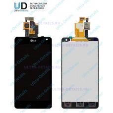 Дисплей LG E975/E971/E973/E977/F180 (Optimus G) в сборе с тачскрином (черный)
