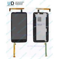 Дисплей HTC One X/S720 в сборе с тачскрином Черный