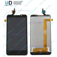 Дисплейный модуль HTC Desire 516 Dual в сборе с тачскрином (черный)