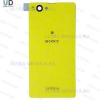 Задняя крышка Sony D5503 (Z1 Compact) (желтый)