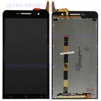 Дисплей Asus ZenFone 6 (A600CG) в сборе с тачскрином (черный)