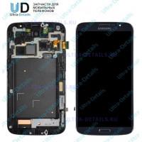 Дисплей Samsung i9200 в сборе с тачскрином (черный)