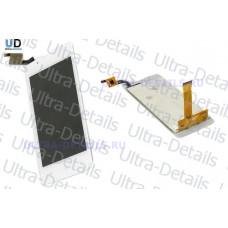 Дисплей Fly FS401 (Stratus 1) в сборе с тачскрином (белый)