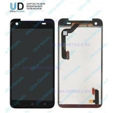 Дисплей HTC Butterfly S в сборе с тачскрином (черный)