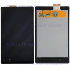 Дисплей Asus Nexus 7 (ME370)  в сборе с тачскрином (черный) с рамкой (wifi) оригинал
