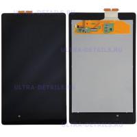 Дисплей Asus Nexus 7 II (ME571) (2013) в сборе с тачскрином (черный)