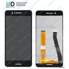 Дисплей HTC Desire 728 в сборе с тачскрином (черный)