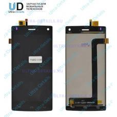 Дисплей Fly FS452 (Nimbus 2) в сборе с тачскрином (черный)