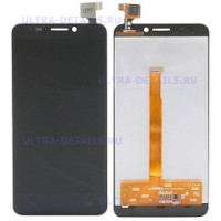 Дисплей Alcatel OT-6035R (Idol S) в сборес тачскрином (черный)