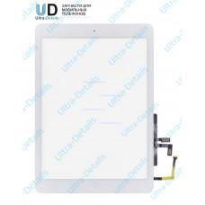 Тачскрин iPad Air (белый) с кнопкой Home