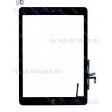 Тачскрин iPad Air (черный) с кнопкой Home