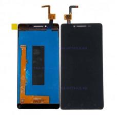 Дисплей Lenovo A6010 в сборе с тачскрином (черный) Оригинал