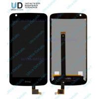 Дисплей HTC Desire 326 в сборе с тачскрином (черный)