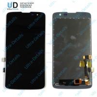 Дисплей LG X210DS (K7) в сборе с тачскрином (черный)