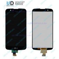 Дисплей LG K410/K430DS (K10/K10 LTE) (LH530WX2-SD01 V03) в сборе с тачскрином  (черный) (матрица оригинал)