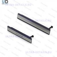 Набор заглушек (USB+MicroSD) Sony D6503 (Z2) (синий)