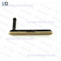 Заглушка (SIM/SD) Sony E6653 (Z5) (золотой)