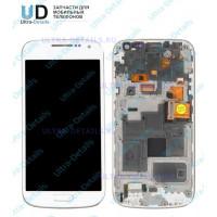 Дисплей Samsung i9190/i9192/i9195 (S4 mini) в сборе с тачскрином (белый) Оригинал