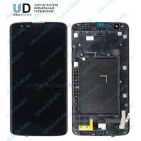 Дисплейный модуль LG X210 черный с рамкой