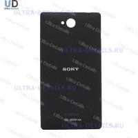 Задняя крышка Sony C2305 (C) (черный)