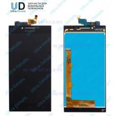 Дисплей Lenovo P70 в сборе с тачскрином (черный)