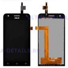 Дисплей Asus ZenFone C (ZC451CG) в сборе с тачскином  (черный) Оригинал