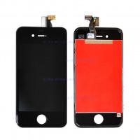 Дисплей iPhone 4S в сборе с тачскрином (черный) (Аналог)