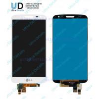 Дисплей LG D618 (G2 mini) в сборе с тачскрином (белый) (матрица оригинал)