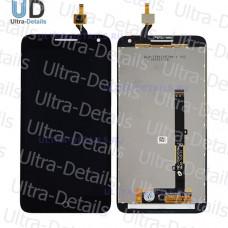 Дисплей Alcatel OT-5025D (Pop 3) (5.5 3G) в сборе с тачскрином (черный)