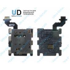 Коннектор SIM HTC One M8