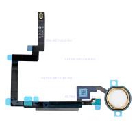 Шлейф iPad mini 3 на кнопку HOME в сборе (золотой)