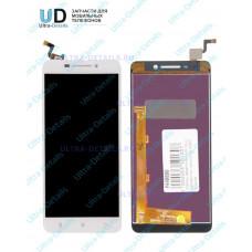 Дисплей Lenovo A5000 в сборе с тачскрином (белый)