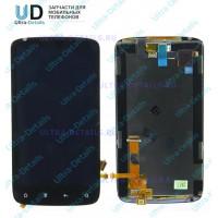 Дисплейный модуль HTC Sensation черный